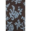 nuLOOM Cine Paisley Brown / Blue Area Rug