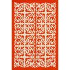 nuLOOM Homestead Orange Celine Area Rug
