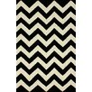 <strong>nuLOOM</strong> Moderna Black Chevron Rug