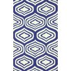 <strong>Trellis Navy Sandra Rug</strong> by nuLOOM