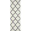 nuLOOM Fancy Violet/Beige Edison Area Rug