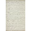 <strong>Brilliance White Solid Border Rug</strong> by nuLOOM