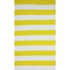 nuLOOM Brilliance Yellow Nautical Bold Area Rug