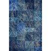 nuLOOM Hides Blue Patchwork Area Rug