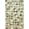 nuLOOM Hides Spotted Hide Black/Grey Geometric Area Rug