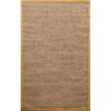 nuLOOM Natura Herringbone Brown/Yellow Area Rug
