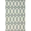 <strong>Flatweave Light Grey Twizzle Rug</strong> by nuLOOM