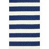 nuLOOM Serendipity Navy Alina Stripes Area Rug