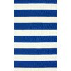 nuLOOM Serendipity Royal Blue Alina Stripes Area Rug
