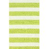 <strong>Serendipity Green Alina Stripes Rug</strong> by nuLOOM