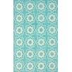nuLOOM Serendipity Light Turquoise Super Bold Area Rug