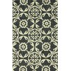 nuLOOM Homestead Brocade Black Geometric Area Rug