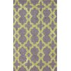 nuLOOM Homestead Yellow/Purple Heather Geometric Area Rug