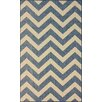nuLOOM Villa Blue Chevron Indoor/Outdoor Area Rug
