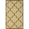 nuLOOM Villa Taupe Double Trellis Indoor/Outdoor Area Rug
