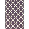 <strong>Moderna Purple Trellis Rug</strong> by nuLOOM