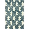 nuLOOM Tulon Blue Tied Down Rug