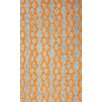 nuLOOM Brilliance Orange Hannah Plush Rug