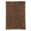 nuLOOM Flokati Milk Chocolate Area Rug