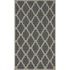 nuLOOM Villa Grey Trellis Indoor/Outdoor Area Rug