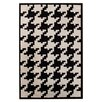 <strong>Magnifique Houndstooth Black/White Rug</strong> by nuLOOM
