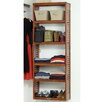 "<strong>John Louis Inc.</strong> 12"" Deep Stand Alone Shelf Tower Set in Red Mahogany"