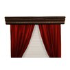 Halsted Custom Moulding Double Curtain Rod Cornice