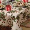 Violet Linen European Seasonal Tablecloth