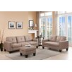 DG Casa Bradford Sofa, Loveseat and Ottoman Set