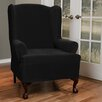 Maytex Collin Stretch Wing Chair Slipcover