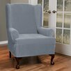 <strong>Collin Stretch Wing Chair Slipcover</strong> by Maytex