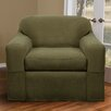 Maytex Reeves Stretch Two Piece Club Chair Slipcover