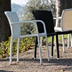 <strong>Varaschin</strong> Cafeplaya Stackable Dining Chair with Cushion by Varaschin R and D