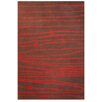 Acura Rugs Contempo Brown/Red Rug