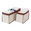 Delta Children 2 Piece Nursery Organizer Bin Set