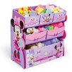 <strong>Multi-Bin Minnie Mouse Toy Organizer</strong> by Delta Children