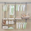 "<strong>Delta Children</strong> 12"" Deep Nursery Closet Organizer Set"