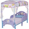 <strong>Disney Fairies Toddler Bed with Canopy</strong> by Delta Children