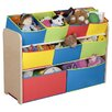 Delta Children Multi-Color Deluxe Toy Organizer with Bins