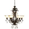 <strong>Florence 6 Light Chandelier</strong> by Artcraft Lighting