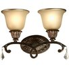 <strong>Artcraft Lighting</strong> Florence 2 Light Wall Sconce