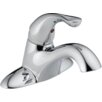 Delta Classic Centerset Bathroom Faucet with Single Handle and Diamond Seal Technology