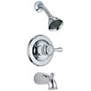 Leland Pressure Balanced Diverter Tub and Shower Faucet Trim