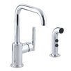 Kohler Purist Secondary Swing Spout with Spray