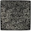 Gandia Blasco Hand Tufted Etnia Black/White Striped Area Rug