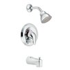 Moen Chateau Posi-Temp Thermostatic Tub and Shower Faucet Valve with Lever Handle