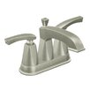 <strong>Moen</strong> Divine Centerset Bathroom Faucet with Double Handles
