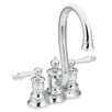 <strong>Moen</strong> Waterhill Two Handle Centerset High Arc Bar Faucet