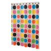 French Bull Multi Dot Peva Shower Curtain