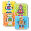 French Bull Robot Kids Plates (Set of 4)